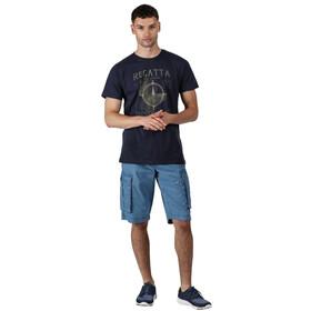 Regatta Cline IV T-Shirt Heren, navy